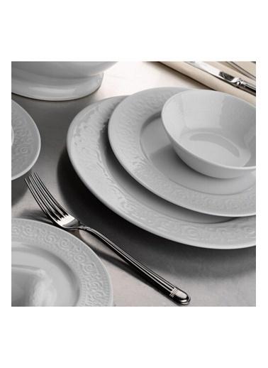 Kütahya Porselen Açelya Yemek Takımı Seti 48 Prç. Renkli